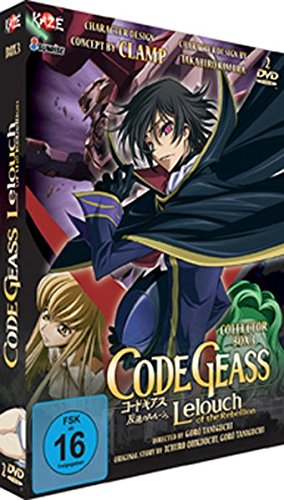 Code Geass: Lelouch of the Rebellion – Staffel 1 – Box Vol. 3 (2 DVDs)