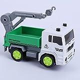 Driverder Kinder Inertial Engineering Fahrzeug Musik Elektrische Stadt Serie (Grün)