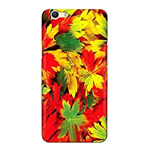 DASM United Oppo A59 Premium Back Case Cover - Autumn Color Leaves