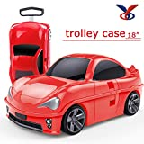 #1: Kidsgenie car shape luggagel trolley for kids (Color may vary)