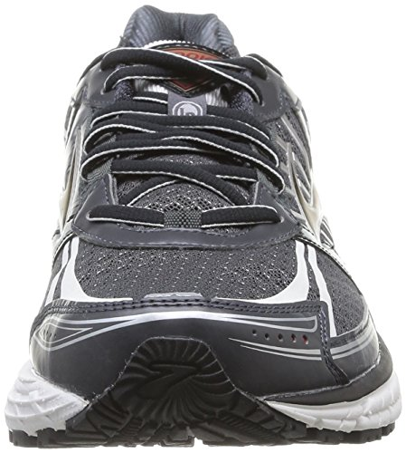 Brooks Defyance 8 Herren Laufschuhe Grau (Anthracite/RibbonRed/Black)