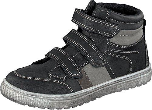 Indigo Jungen Sneaker Low-Top Black