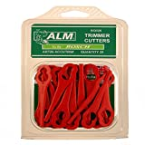ALM BQ026 Kunststoff Ersatzmesser für Lidle Florablast Rasentrimmer (50er Pack)