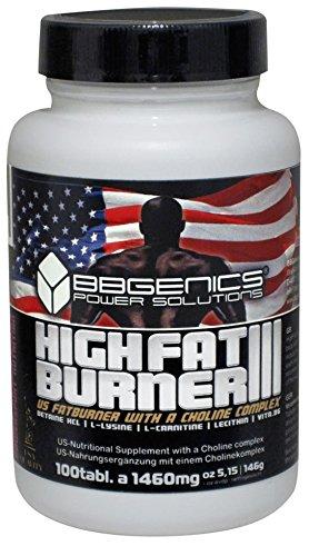 BBGenics High FatBurner III, für Diät, Definition, Gewichtsverlust, Fat Burn ex-treme