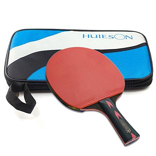 Sunneey Tischtennis Tasche Schlägerhülle Für Bis Zu Zwei Schläger, Zubehörfach