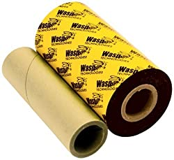 WASP BARCODE TECHNOLOGIES 633808431204 WPR 4.33 X 820 WAX-RESIN RIBN FOR WASP WPL 305 AND 606 PRINTERS