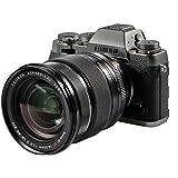 Fujifilm X-T1 Systemkamera (16 Megapixel APS-C X-Trans CMOS II Sensor, Klappbares 7,6 cm (3 Zoll) LCD-Display, WiFi, spritzwasser- und staubgeschützt) Kit inkl. Fujinon XF16-55 mm graphit/silber