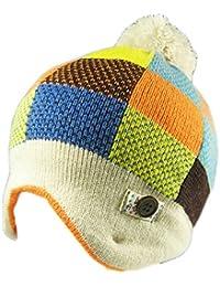 ae660b1e361 KIDS GIRLS BOYS SOFT WARM WINTER BOBBLE HAT AND SCARF SET
