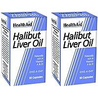 Healthaid Heilbutt Leber Öl Stück 2x 90Kapseln (180Kapseln) preisvergleich bei billige-tabletten.eu