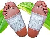 Bambus Detox-Pflaster, Vital-Pflaster, Fusspflaster zur Entgiftung, Entschlackung, Qualitativ hochwertig und 100% natürlich, Detox Pads (e.) 100 Stück)
