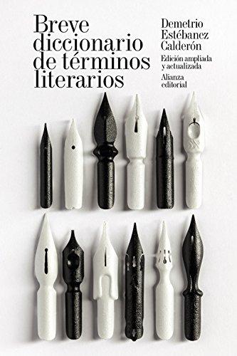 Breve diccionario de términos literarios (El Libro De Bolsillo - Humanidades)