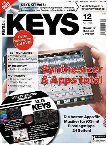 Synthesizer & Apps für Musiker - Keys DVD mit Loops Samples Workshops und Tests