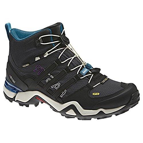 Adidas Terrex Outdoor rapide R Mid Gtx? Noir / Gris foncé / alimentation rouge Sneaker 5 B (m)