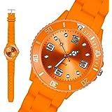 Taffstyle® Sportarmbanduhren - Bunte Sportuhr in verschiedene Farben und größen für Damen, Herren und Kinder Silikon Armbanduhr