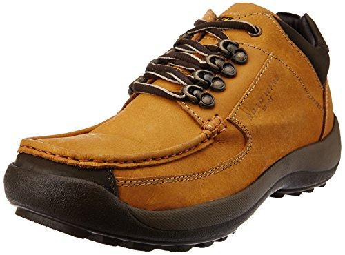 Franco Leone Mens Beige Leather Boots - 6 UK/India (40 EU)