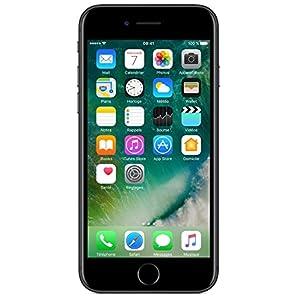 Apple iphone 7 Smartphone débloqué 4G (Ecran : 4,7 pouces - 128 Go - iOS 10) Noir