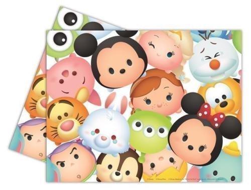 Procos Disney Tsum Tsum Nappe En Plastique Pour Fête