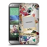 Head Case Designs Personalisierte Individuelle Pop Kultur Karte Der Welt Ruckseite Hülle für HTC One Mini 2