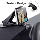 Modohe Car Phone Mount Dashboard Phone Holder Universal Car Phone Holder HUD Design for Safe Driving Non-Slip car Cradle for iPhoneXR XS Max 8 7 6s plus Samsung S10 S9 S8 Note Huawei P20 etc