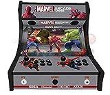 Arcade Machines - Marvel Arcade Mania - 2 jugadores Arcade Bartop Machine - 815 JUEGOS EN 1