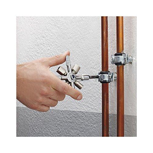 Knipex 00 11 01 TwinKey – für Schaltschränke, Fenster und Absperrsysteme - 11