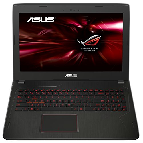 Asus ROG FX553VE-DM354T PC portable Gamer 15,6 Full HD Noir (Intel Core i7, 8 Go de RAM, Disque dur 1 To + SSD 128 Go, Nvidia GeForce GTX 1050 Ti 4G, Windows 10)