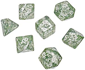 Dice4friends DIC86009 - Cubos para bebé, Color Verde
