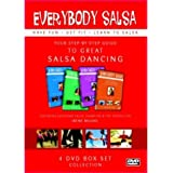 Everybody Salsa! Vol. 1-4 Dvd Boxset - Your Step-By-Step Guide