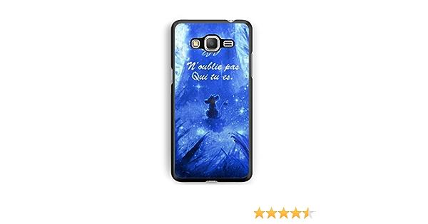 Coque Samsung Galaxy Grand Prime Disney Roi Lion Simba Hakuna Qui tu ES REF11427