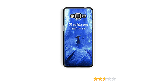 Coque Samsung Galaxy J5 2016 Disney Roi Lion Simba Hakuna Qui tu ES REF11430