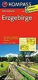 Erzgebirge: Fahrradkarte. GPS-genau. 1:70000 (KOMPASS-Fahrradkarten Deutschland, Band 3088)