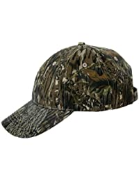 GREEN WOODLAND CAMO BASEBALL CAP