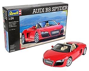 Revell Maqueta Audi R8 Spyder, Kit Modelo, Escala 1:24 (07094), Multicolor