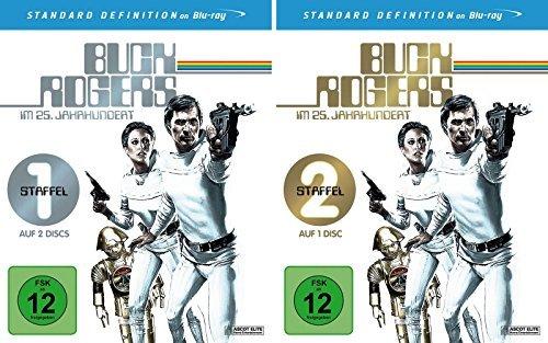 Buck Rogers - die komplette Staffel 1+2 im Set - Deutsche Originalware [3 Blurays]