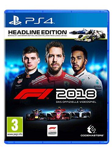 formel eins ps4 F1 2018 Headline Edition [Playstation 4] [PEGI-AT]