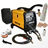 Wolf MIG 140 Gas/No Gas Combination Turbo, Smooth DC Mig Welder with Accessory