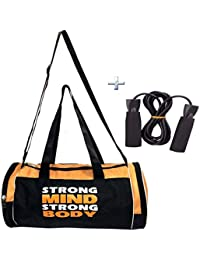 Combo Protoner Gym Bag Strong Mind Strong Body With Rope