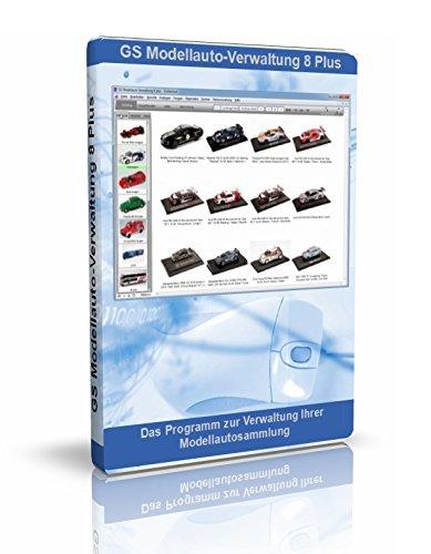 GS Modellauto-Verwaltung 8 Plus - Software zur Verwaltung Ihrer Modellautosammlung mit über 19.000 Modellautos im Programmteil Collection