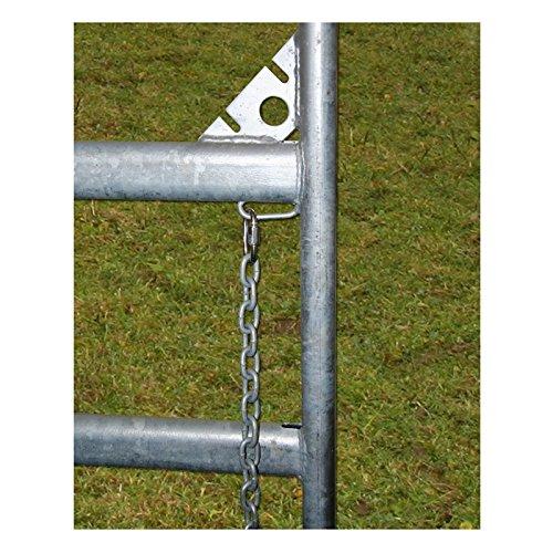 Kerbl Panel – Zaunelement 3,6 m mit Schnell-Kettenverschluss - 8