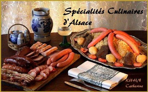 Spécialités culinaires d'Alsace par catherine kuhn