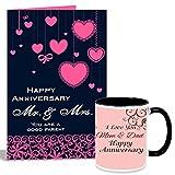 #10: Happy Anniversary Mr. & Mrs. Mug With Card Hamper