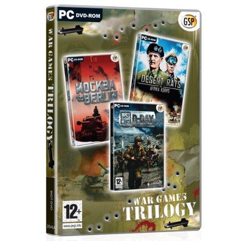 Preisvergleich Produktbild War Games Trilogy (Mockba to berlin / d-day / desert rats) (PC) [UK IMPORT]