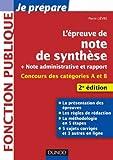 L'épreuve de note de synthèse - 2e édition