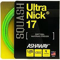 ASHAWAY Ultra Nick 17Lot de squash–Vert