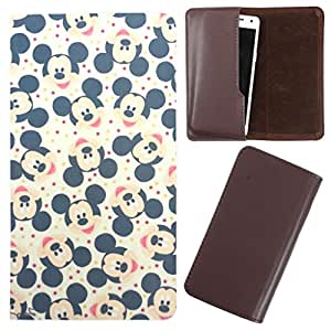DooDa - For Karbonn A40 Plus PU Leather Designer Fashionable Fancy Case Cover Pouch With Smooth Inner Velvet