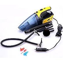 Dustbuster ,Handheld Cleaner Car vuoto, bagnato e Aspirapolvere secco con aspirazione potente e multi-funzioni: gonfiaggio pneumatici, misurazione della pressione dei pneumatici e 100W Illuminazione