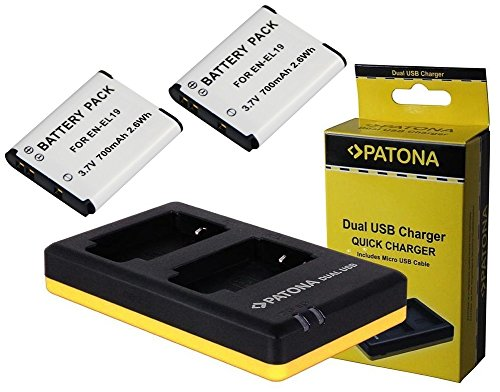 4-in1-set-3-in-1-per-nikon-coolpix-s3700-e-coolpix-s7000-2-x-premium-batteria-per-nikon-en-el19-700-