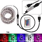 LETTER* 50-200CM USB LED Strip Light TV Lámpara...
