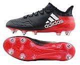 adidas X16.1 SG Leder schwarz/rot UK 9,5 // 44