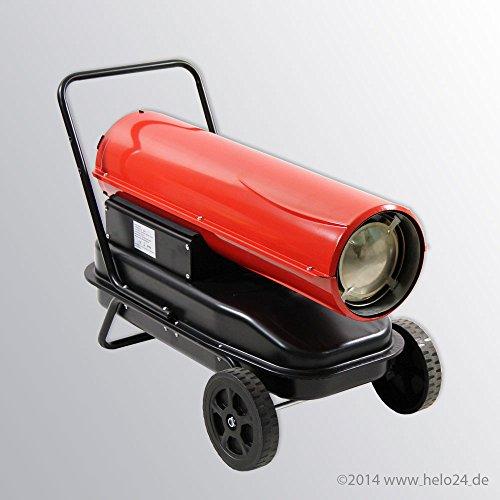 HELO Diesel Heizkanone 30 KW inkl. Temperaturautomatik und Tankanzeige